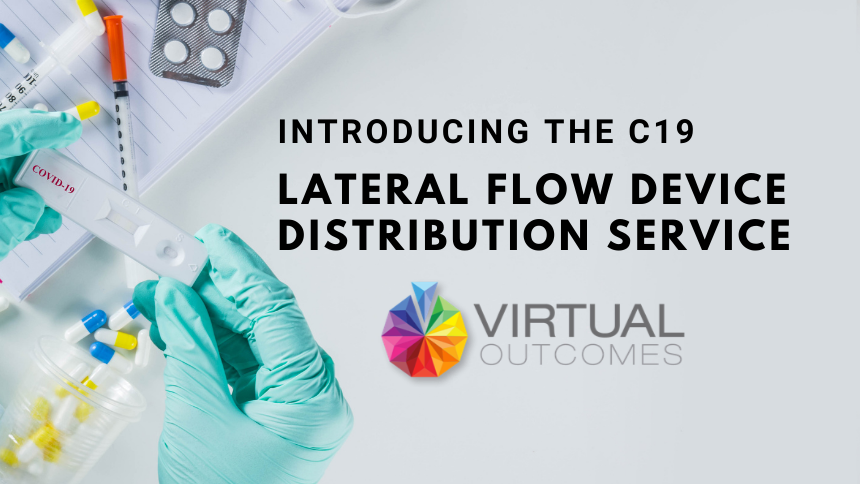 C19 Lateral Flow Device Distribution Service UK